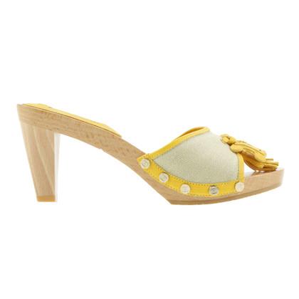 "Céline Sandalen ""Dahlia"" geel"