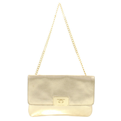 Michael Kors Golden clutch with chain