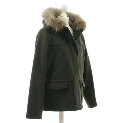 Bash Jacket with fur trim