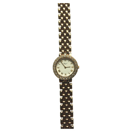 Chopard Ladies watch 18 k Yellow Gold with diamonds