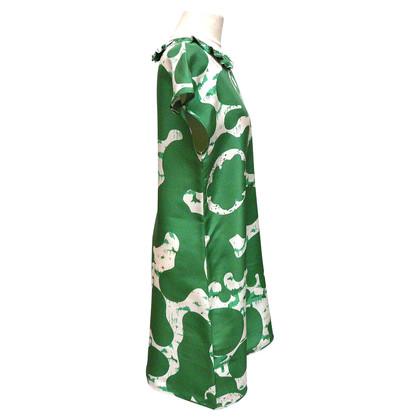 See by Chloé Seidenkleid mit Blumenmuster