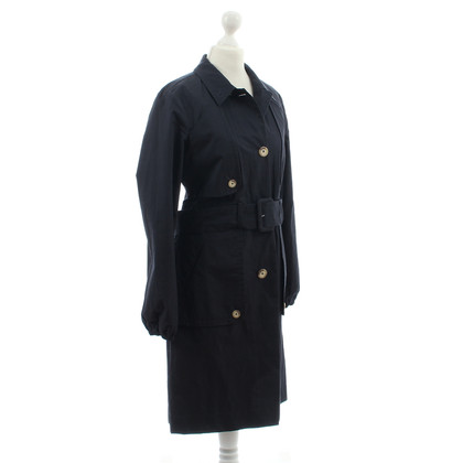 DKNY Trench coat in blu