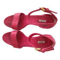 Miu Miu Plateau sandals