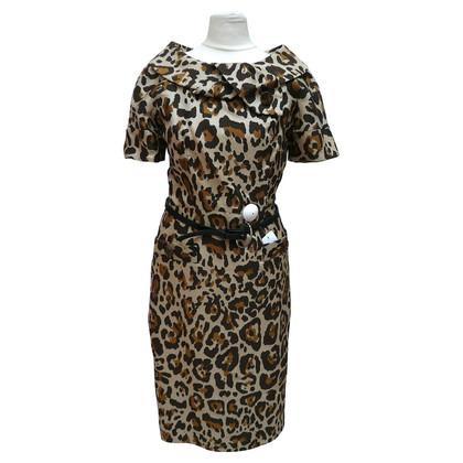 Christian Dior Animal print dress