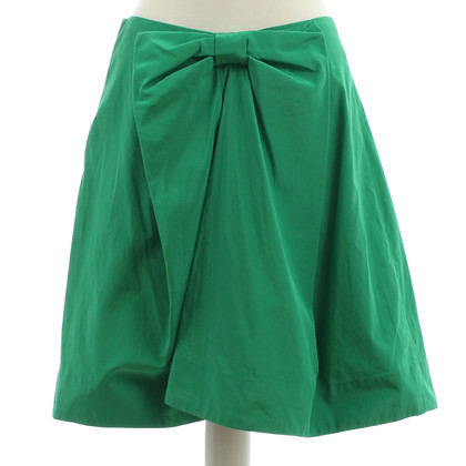 By Malene Birger Green skirt with loop