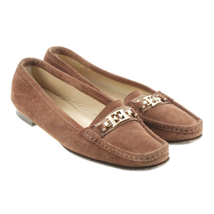 Escada Suède loafer Brown