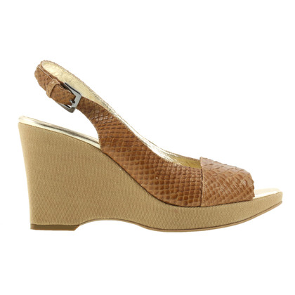 Max Mara Wedges from snakeskin
