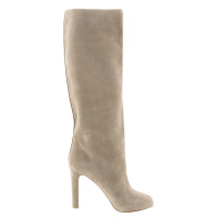 """Christian Louboutin """"Vicky"""" boot in Taupe"""