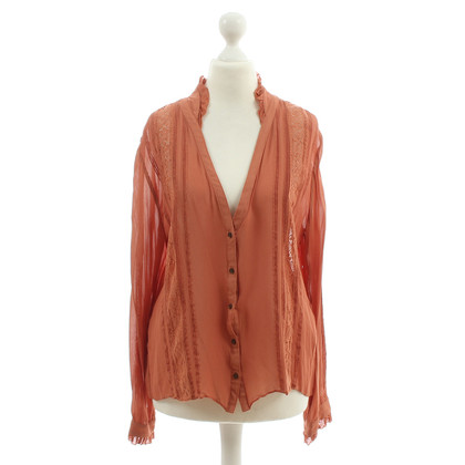 By Malene Birger Blouse with crochet inserts