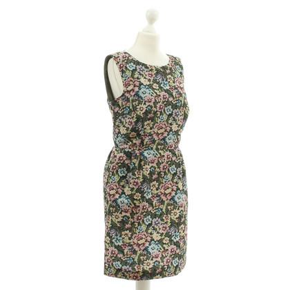 Red Valentino Kleid mit Blumen-Print