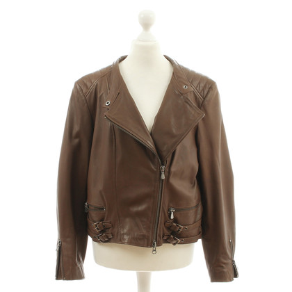 Nusco Brown leather jacket