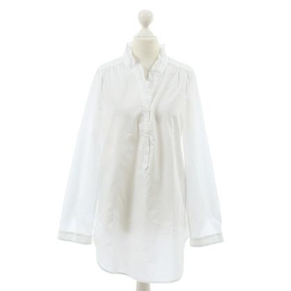 Sandro White long blouse