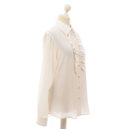 Moschino White silk blouse