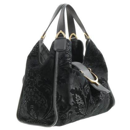 Gucci Brocade trim shoulder bag