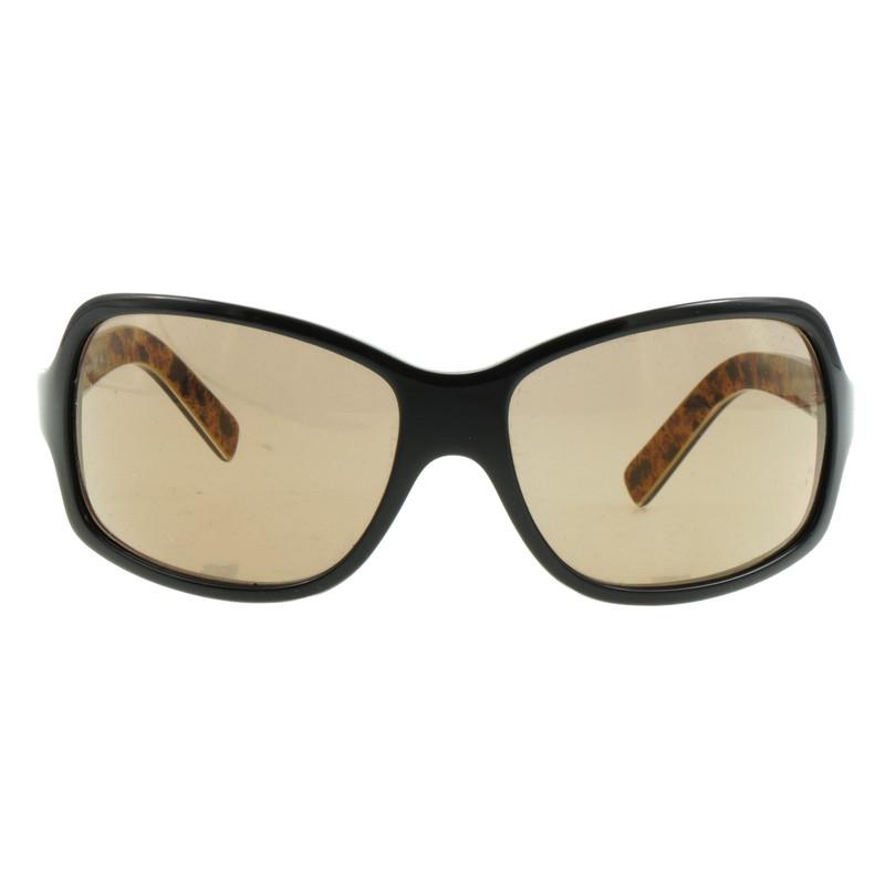 dolce gabbana sonnenbrille in schwarz second hand. Black Bedroom Furniture Sets. Home Design Ideas