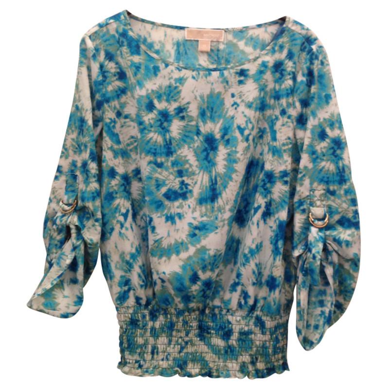 michael kors batikbluse second hand michael kors batikbluse gebraucht kaufen f r 59 00 95492. Black Bedroom Furniture Sets. Home Design Ideas