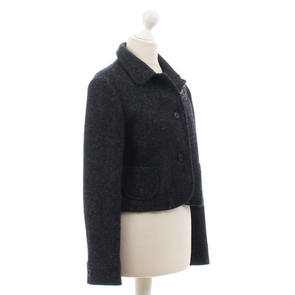 Miu Miu Ricamato in lana Blazer