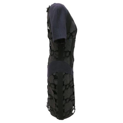Miu Miu Coarse wool lace dress