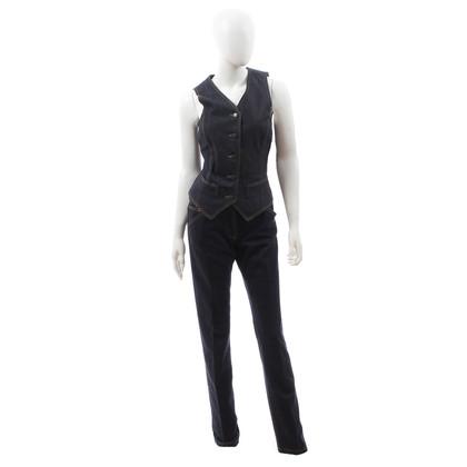 Dolce & Gabbana Denim ensemble van broek en jasje