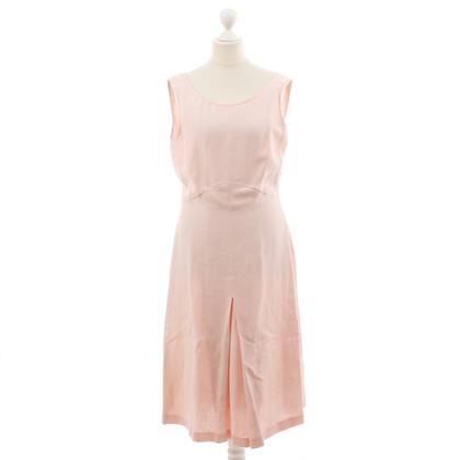 max mara leinenkleid in rosa second hand max mara leinenkleid in rosa gebraucht kaufen f r 59. Black Bedroom Furniture Sets. Home Design Ideas