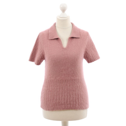 Hugo Boss Short-sleeved sweater in pink