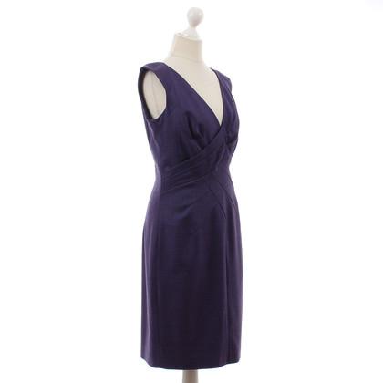 JOOP! Violettfarbenes wool dress