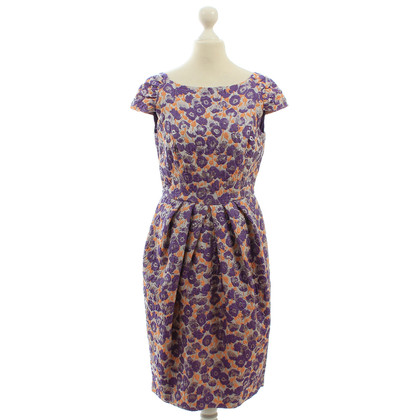 Carolina Herrera Dress with flower pattern