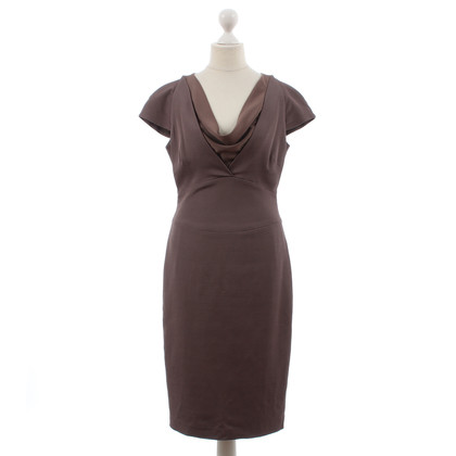 Reiss Dress with waterfall collar