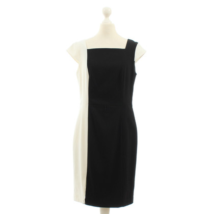Calvin Klein Sheath dress in black and white
