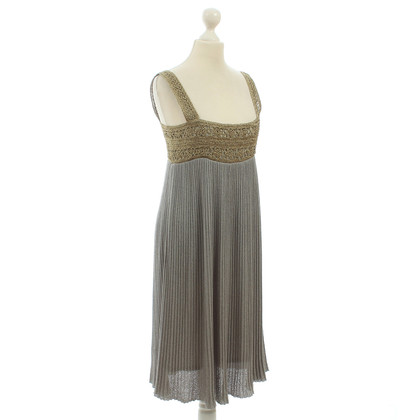 Hoss Intropia Knit dress with metallic trim