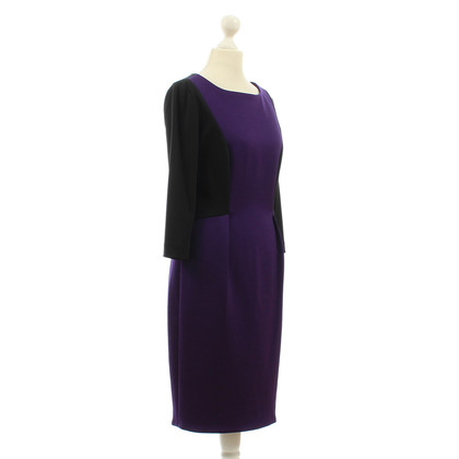 Calvin Klein Dress in purple and black