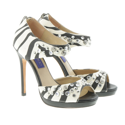 Jimmy Choo for H&M Sandales avec design zèbre