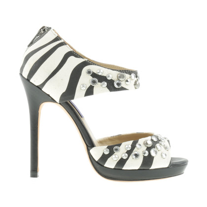 Jimmy Choo for H&M Sandaletten im Zebra-Design