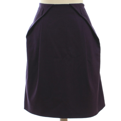 Moschino Cheap and Chic Wool skirt in purple