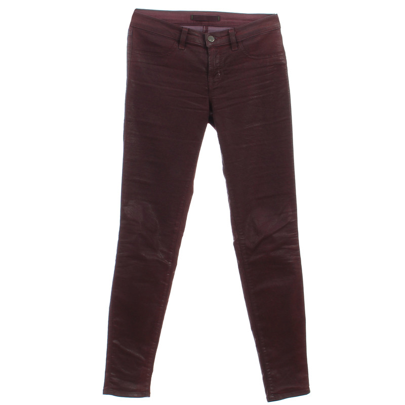 "J Brand Jeans ""Super Skinny"" with coating"