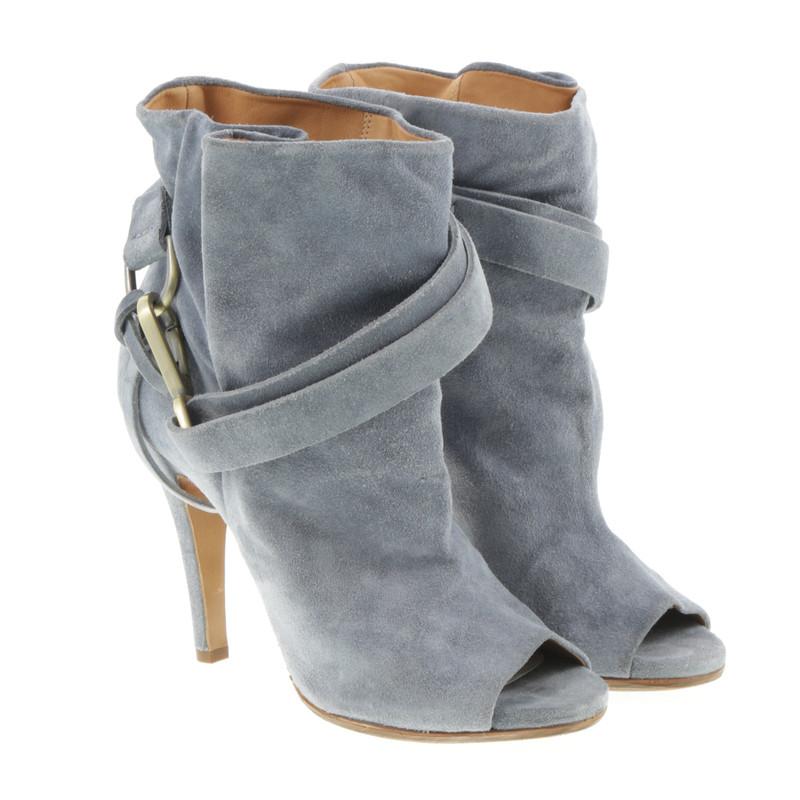 Maison Martin Margiela Enkel laarzen in het grijs blauw