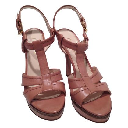 Prada Sandals in nude