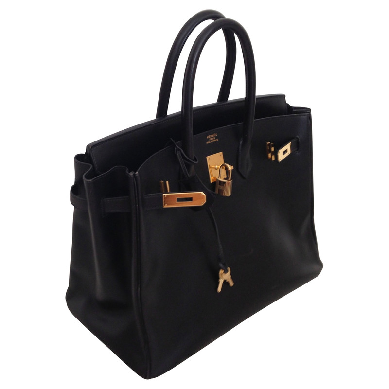 herm s birkin bag 35 in schwarz second hand herm s birkin bag 35 in schwarz gebraucht kaufen. Black Bedroom Furniture Sets. Home Design Ideas
