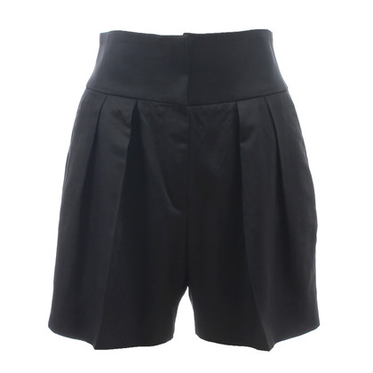 Armani High Waist Shorts in Schwarz