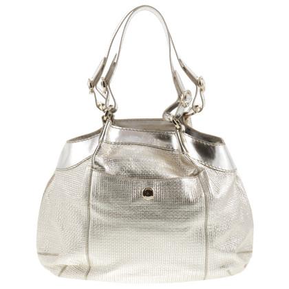 Hogan Hand bag in metallic look