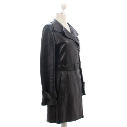 Akris Similpelle cappotto trench coat