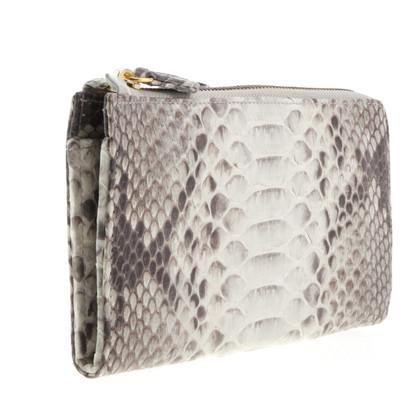 Other Designer Desiree Lai - Python leather wallet