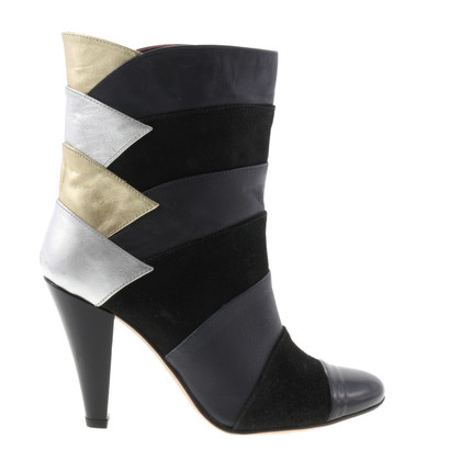 Other Designer Eley Kishimoto - ankle boots with metallic accents