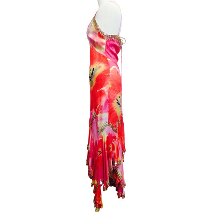 Roberto Cavalli Long silk dress