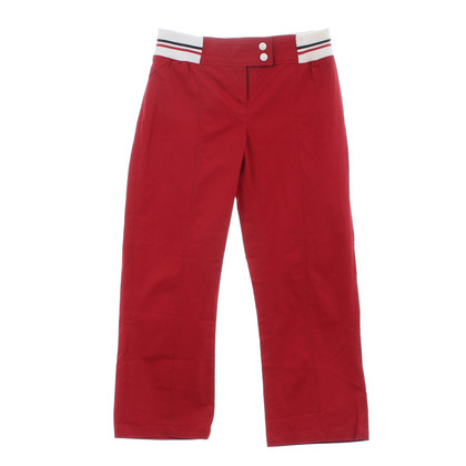 D&G Pantaloni 7/8 in rosso