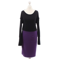 Marc Cain Dress in black and violet