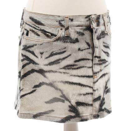 Just Cavalli skirt with animal print
