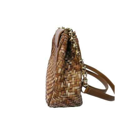 Other Designer Barry Pebble cord braided leather bag