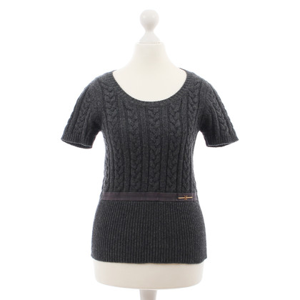 Louis Vuitton Grey short sleeved sweater
