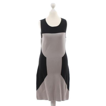 Hugo Boss Bi-colour dress in grey and black